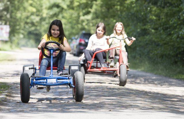 Für die kleinen Rennfahrer
